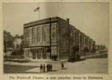 Walbrook Theatre, Baltimore, Maryland in 1916