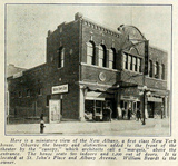 Albany Theatre, St Johns Place and Albany Avenue, New York in 1916