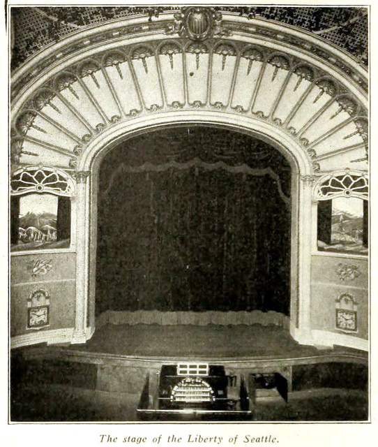 Liberty Theater, Seattle WA in 1916