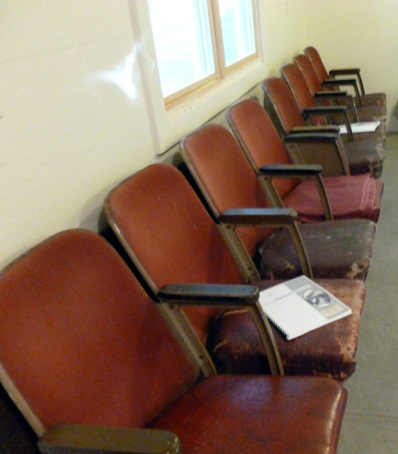 GEM Theatre seats; Gillett, Wisconsin.