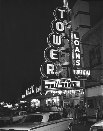 Tower Theater, Oklahoma City, 1964