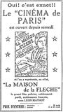 15 février 1932 inauguration annonce