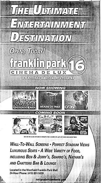 May 6th, 2005 grand opening ad