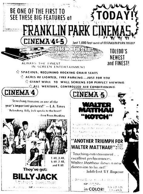 October 22nd, 1971 grand opening ad