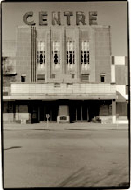 Centre Theater, Oklahoma City, w/Sign