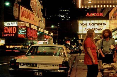 1971 photo courtesy of the Dirty Old 1970's New York City Facebook page.