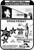April 4th, 1973 grand opening ad as Jerry Lewis