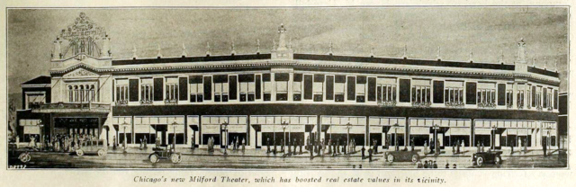 Milford Theatre, Chicago 1917
