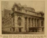 Willis Wood Theatre, Kansas City in 1917