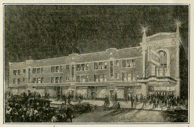 West End Theatre, Chicago IL in 1917