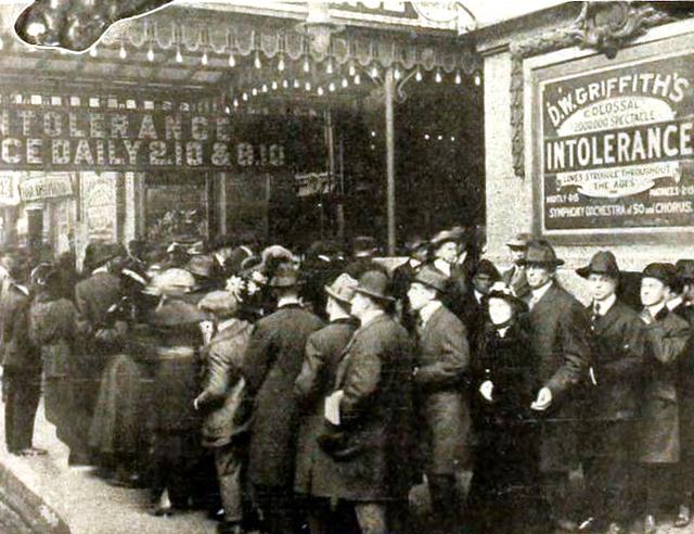 Colonial Theatre, Chicago IL in 1917