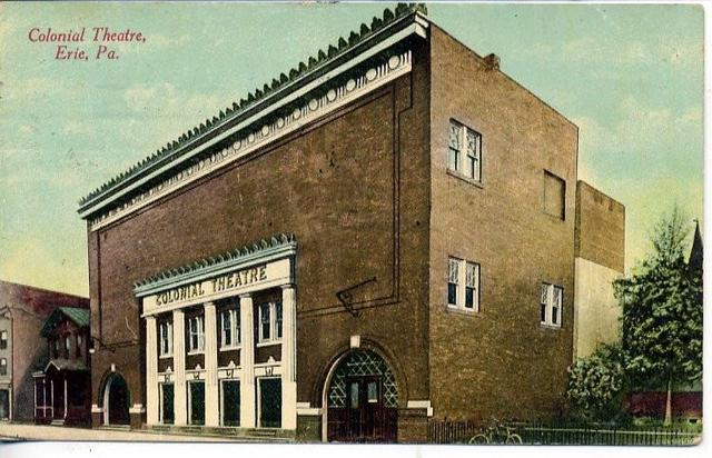 Postcard courtesy of the History and Memoribilia | Erie Pennsylvania Facebook page.