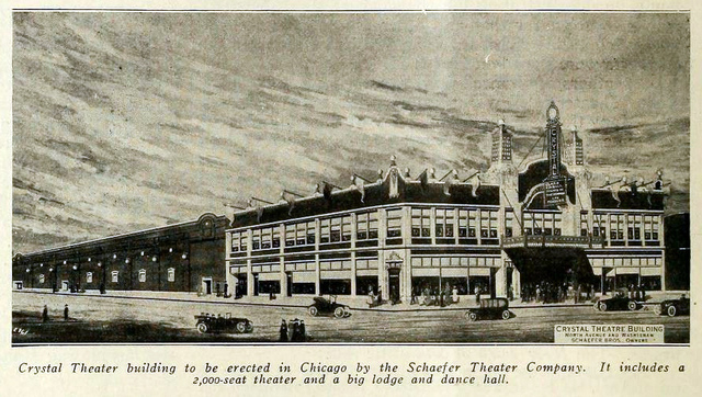 Crystal Theatre, Chicago, IL in 1917