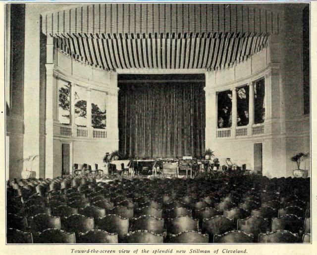Stillman Theatre, Cleveland in 1917