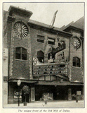Old Mill Theatre, Dallas TX in 1917 - Exterior