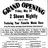 May 23rd, 1946 grand opening ad