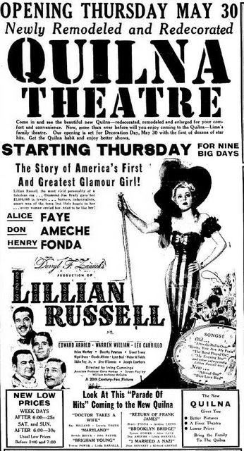 May 29th, 1940 reopening ad