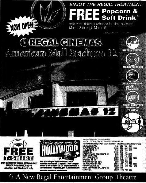 March 3rd, 2006 grand opening ad