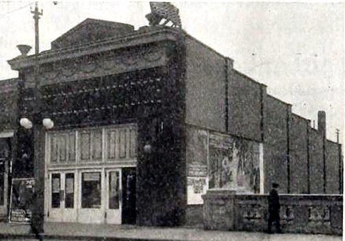 O'Klare Theatre, Eau Claire, Wisconsin in 1917