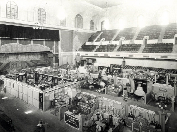 North hall as market