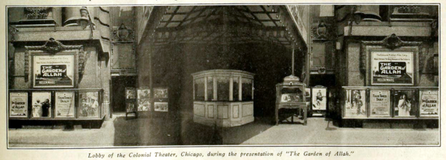 Colonial Theatre, Chicago IL in 1917