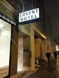 Covent Hotel sign. Photo credit Anthony Yarus.