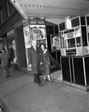 1948 photo of the Covent Theater entrance. Original photo source unknown.