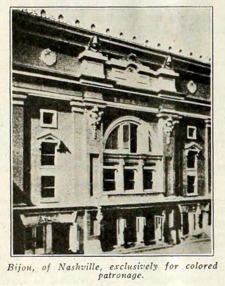 Bijou Theatre, Nashville in 1917