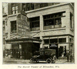 Merrill Theatre, Milwaukee, Wisconsin in 1917