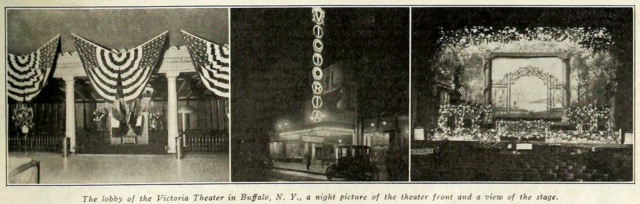 Victoria Theatre, Buffalo NY in 1917