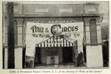 Dreamland Theatre, Chester SC in 1917
