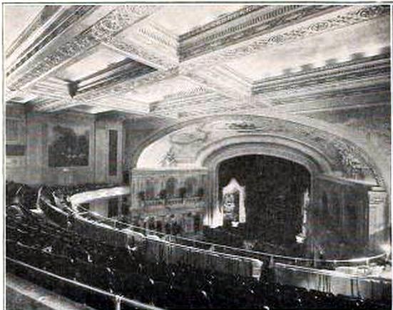 Liberty Theatre, Portland Oregon in 1918