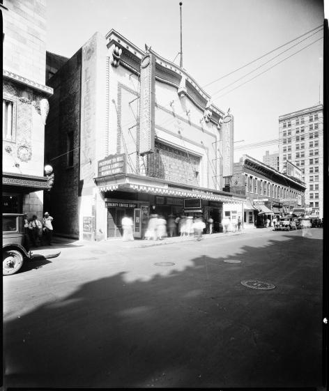 Liberty (Cooper) Theatre, Oklahoma City, early photo
