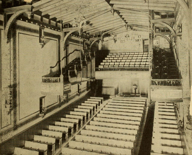 Auditorium, Montgomery Theatre, Atlanta, 1911