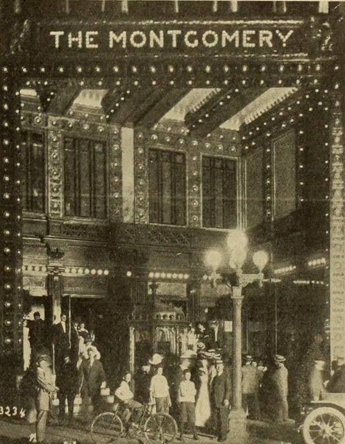 Entrance, Montgomery Theatre, Atlanta, 1911