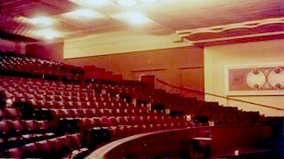 interior of Hoyts Balmain