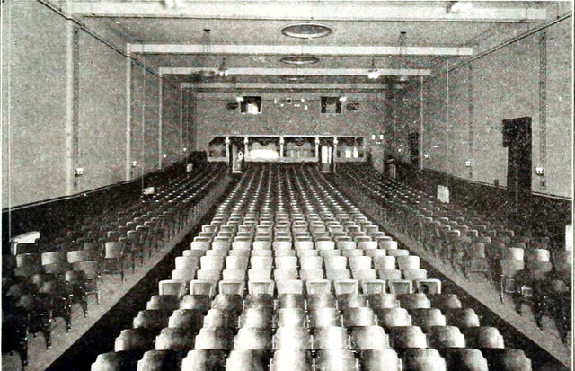 Liberty Theatre, Yakima Washington in 1918