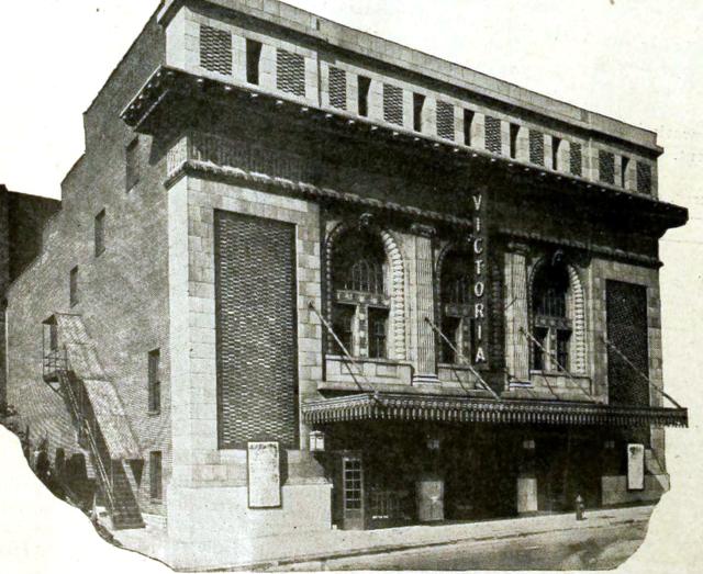 Victoria Theatre, St Louis MO in 1918