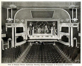 <p>Princess Theatre, Nashville, Tenn in 1912 – Proscenium and Curtains</p>