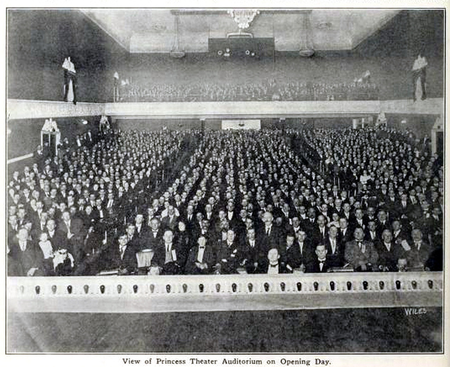 Princess Theatre, Nashville, Tenn in 1912 - Auditorium