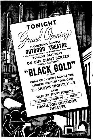 Grand opening ad from September 3rd, 1948