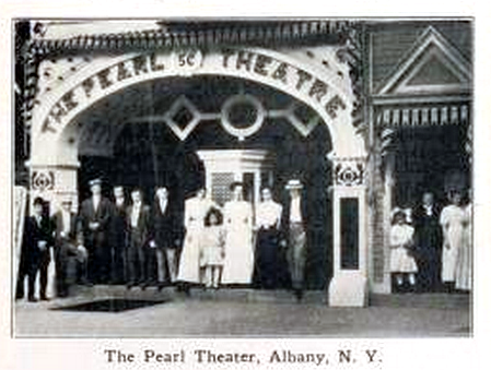 Pearl Theater, Albany, New York in 1912