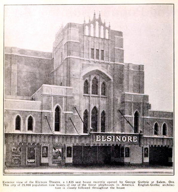 elsinore theatre salem oregon in 1926 cinema treasures