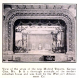Madrid Theatre, Kansas City MO in 1926 - Interior