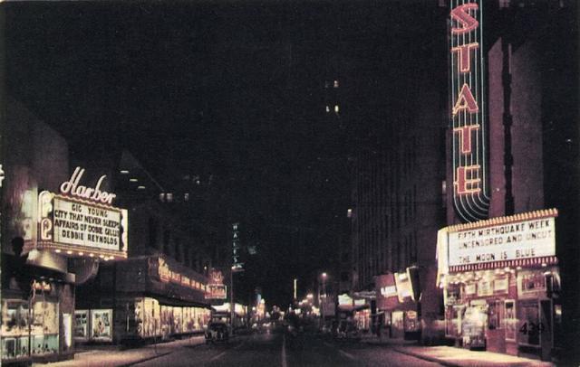 Harber (Liberty, Cooper) Theatre, Oklahoma City, 1953
