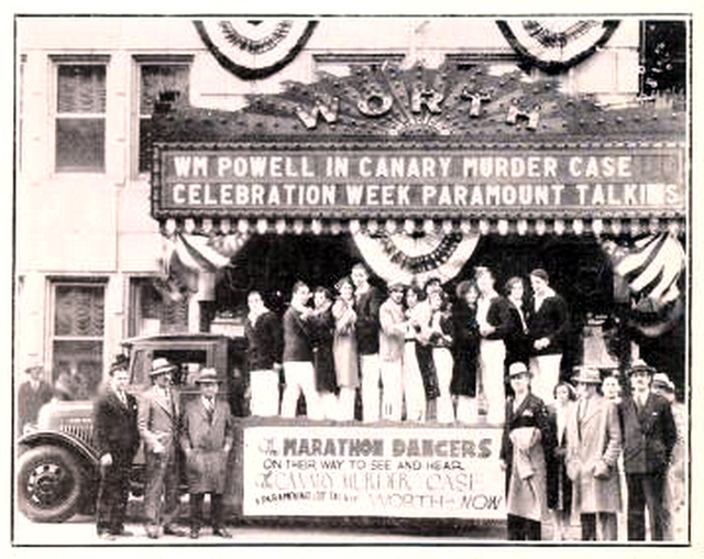 Worth Theatre,  Fort Worth, TX in 1929