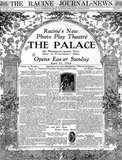 PALACE Theatre; Racine, Wisconsin.