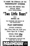 February 28th, 1969 opening for the twin theatre.