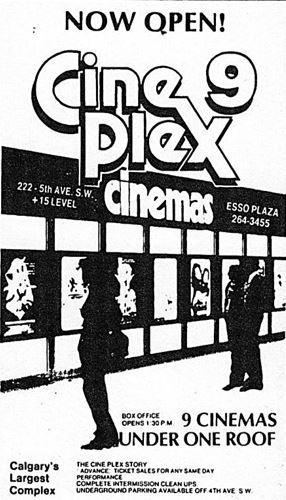 November 13th, 1981 grand opening ad