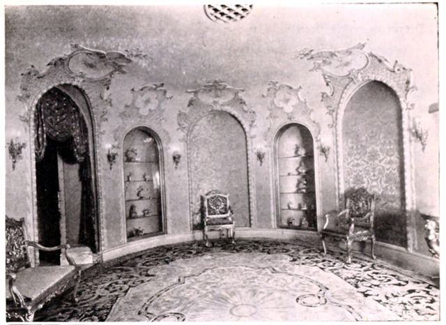 Uptown Theatre, Chicago ILL in 1927 - The Dresden Room, one of the public rooms